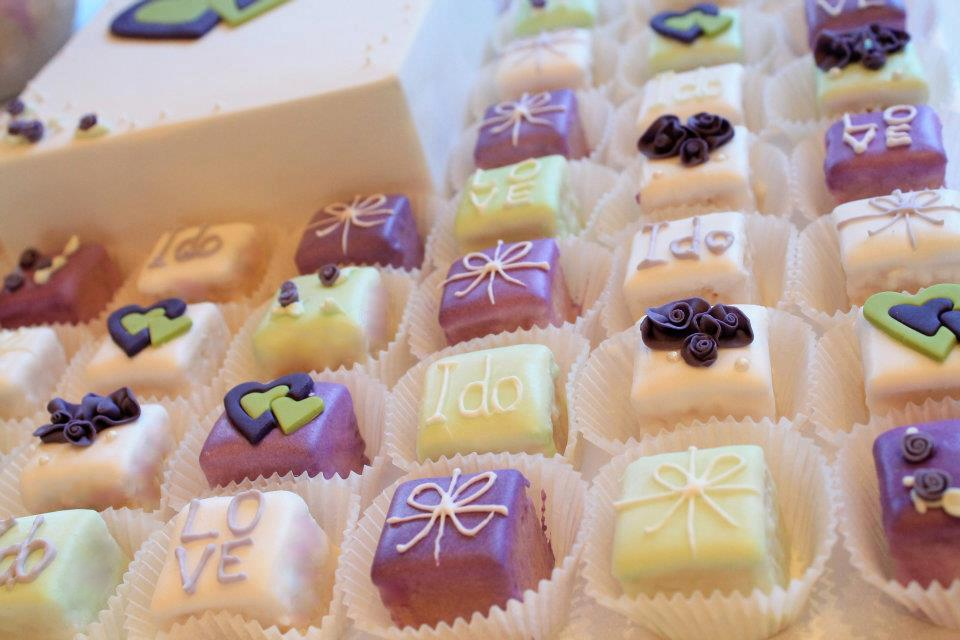Petite Petit Fours Cake Ideas And Designs