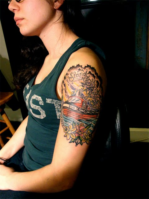 Get reddy for Hallowed ground tattoo