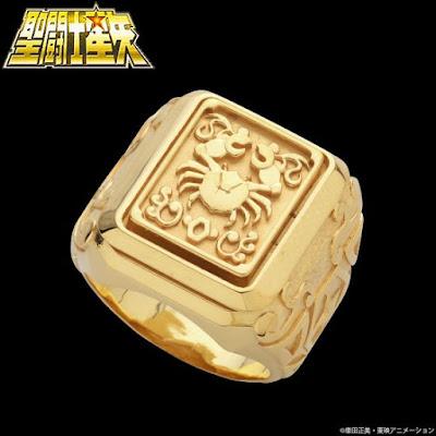 Saint Seiya e gli anelli della Bandai