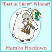 Hambo Hoedown Winner 3/21/2012