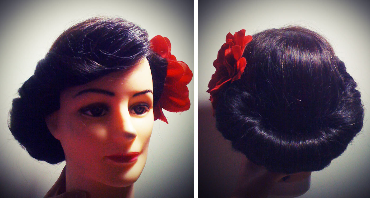 How To Hairstyles : How To Do 1940s Hairstyles For Long Hair Images & Pictures - Becuo