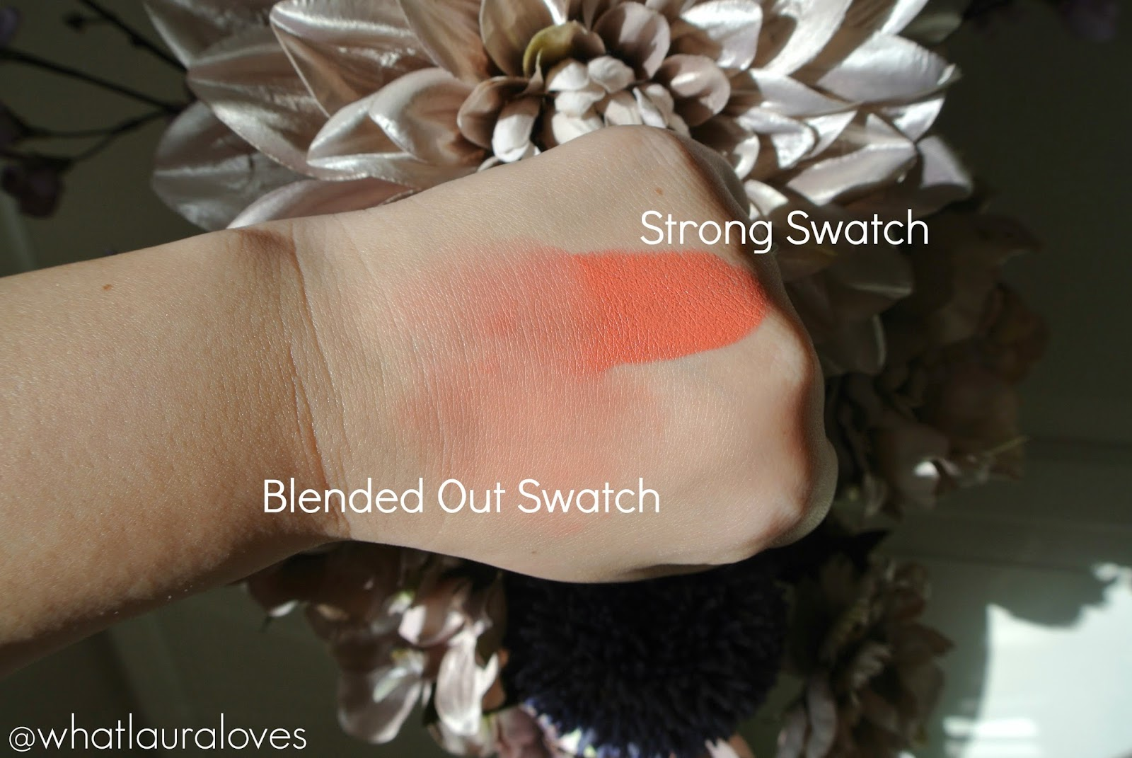 Makeup Revolution The One Blush Stick in Matte Rush worn on lips and cheeks Review and Swatches