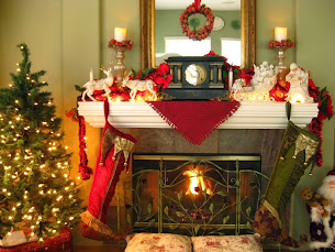 Great room mantel
