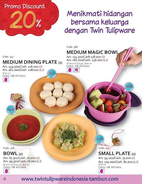 Promo Diskon Tulipware Januari 2016