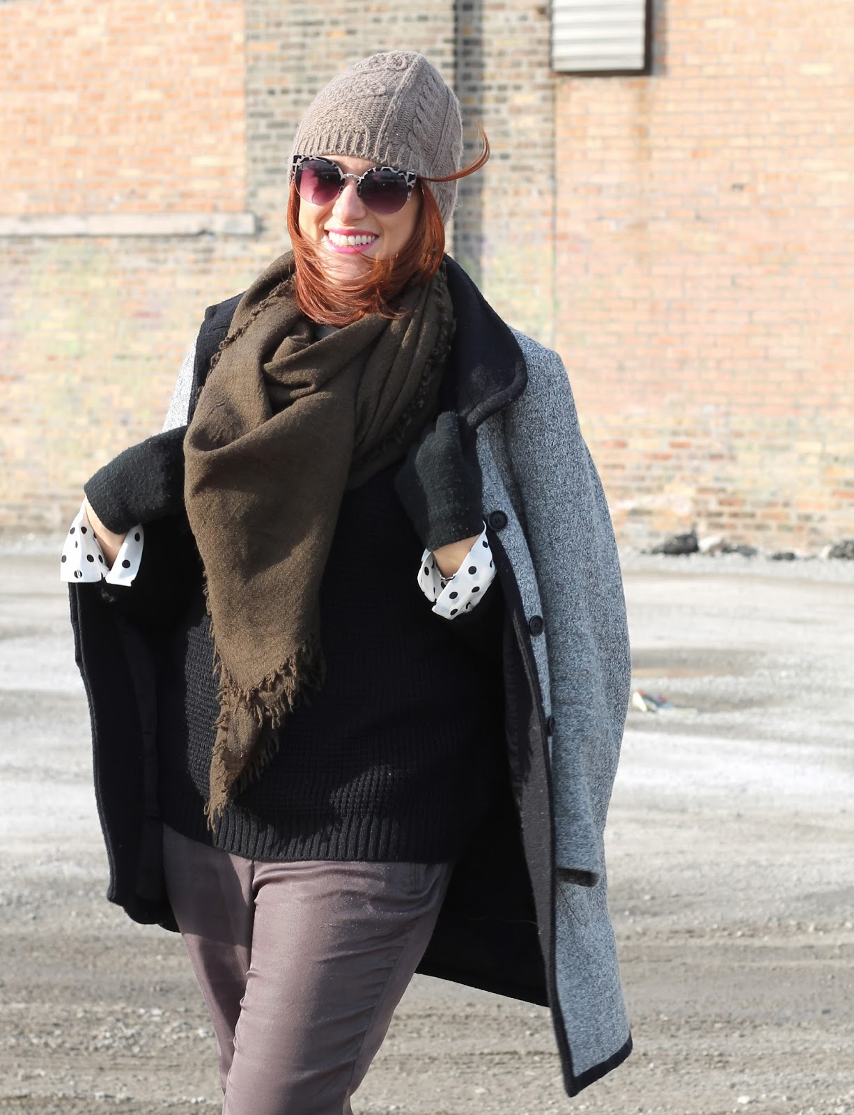 Blanket, scarf, Zara