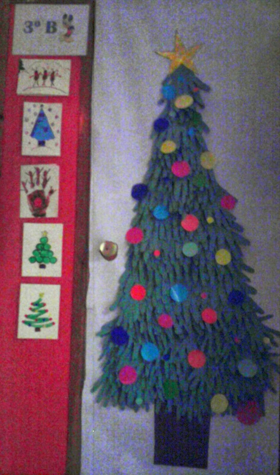 El blog del blas diciembre 2014 for Mural navideno