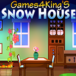 Games4King Snow House Escape