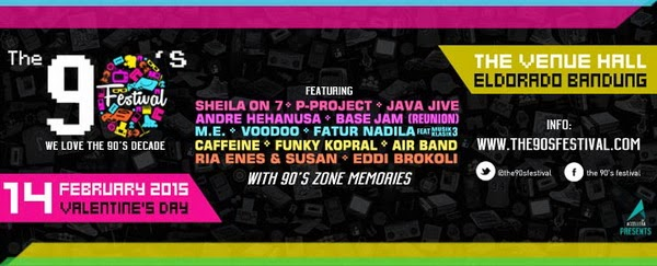 The 90′s Festival : We Love The 90′s Decade