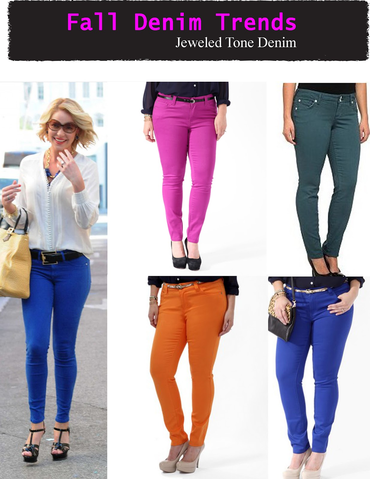 Plus Size Colored Jeans | Ku Jeans