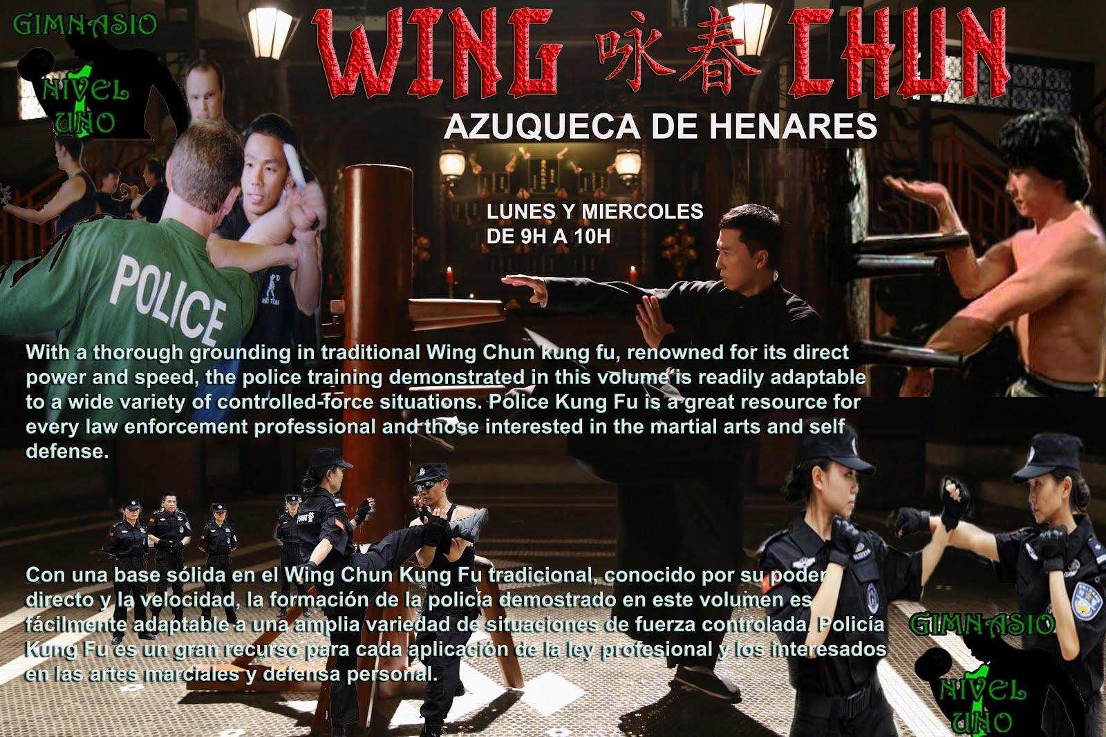 Wing Chun Azuqueca de Henares - Gimnasio Nivel Uno - Información; Tlf - 626 992 139