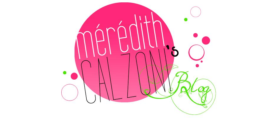 Mérédith Calzoni Blog