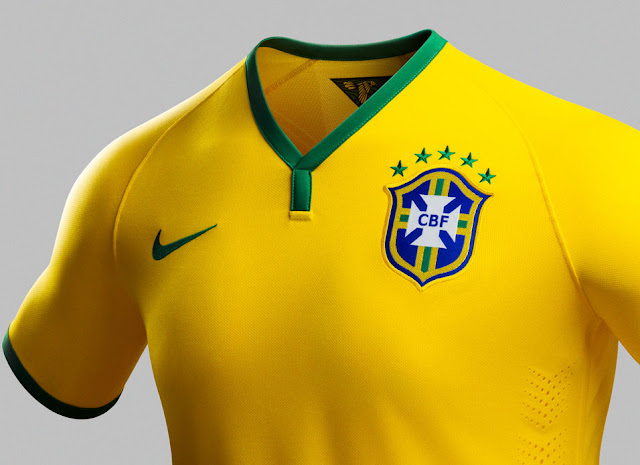 Nike lança uniforme da Seleção Brasileira de Futebol