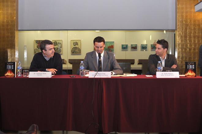 Presentació BCN Lorenzo Silva - Manel Prat