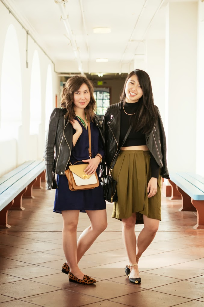 leather moto jacket, san francisco style bloggers, sf fashion blogger, cropped turtleneck