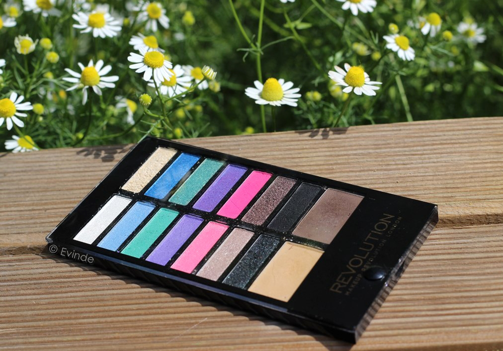 makeup revolution sticks & stones palette review