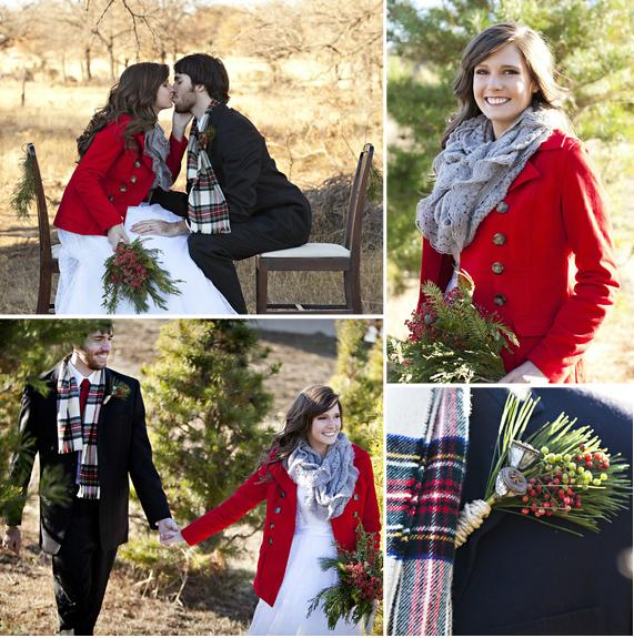 Rustic Winter Wedding Inspiration