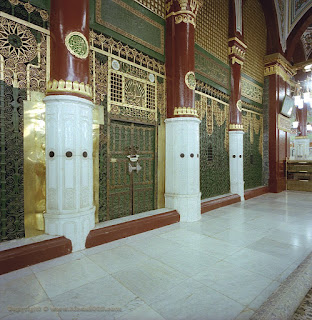 Beautiful Masjid-e-Nabvi Pictures Gallery3
