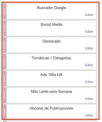 Resultado Títulos Gadgets Blogger