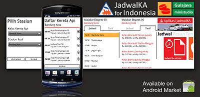 JadwalKA (Indonesia) apk, Aplikasi Android Jadwal Kereta Api