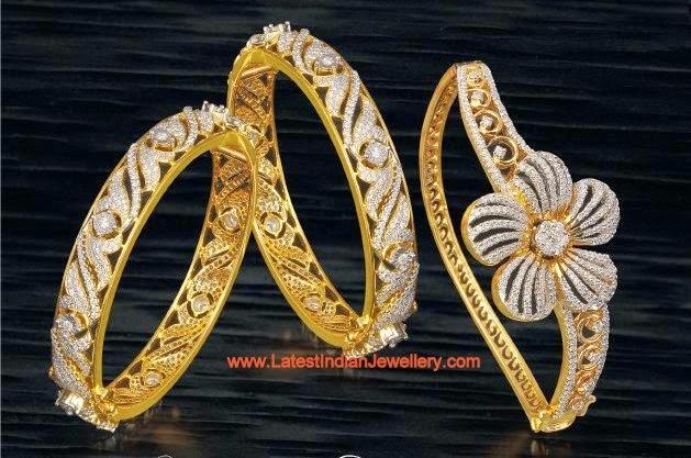 Diamond Bangles Designer Bracelet Design