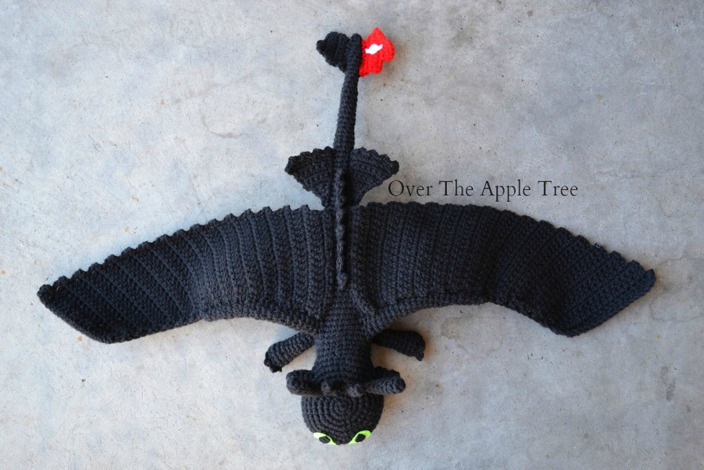 Amigurumi Toothless : Over the apple tree crochet like crazy toothless