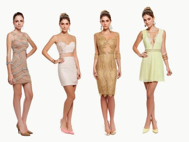 Vestidos Elegantes e de Festa para o Réveillon 2015