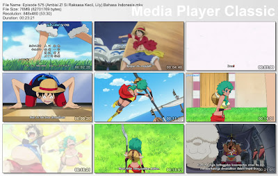 Download Film One Piece Episode 575 (Ambisi Z! Si Raksasa Kecil, Lily) Bahasa Indonesia