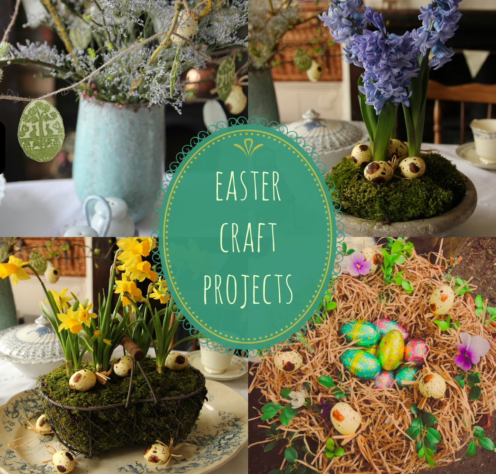 Easter craft projects - A Handmade Cottage
