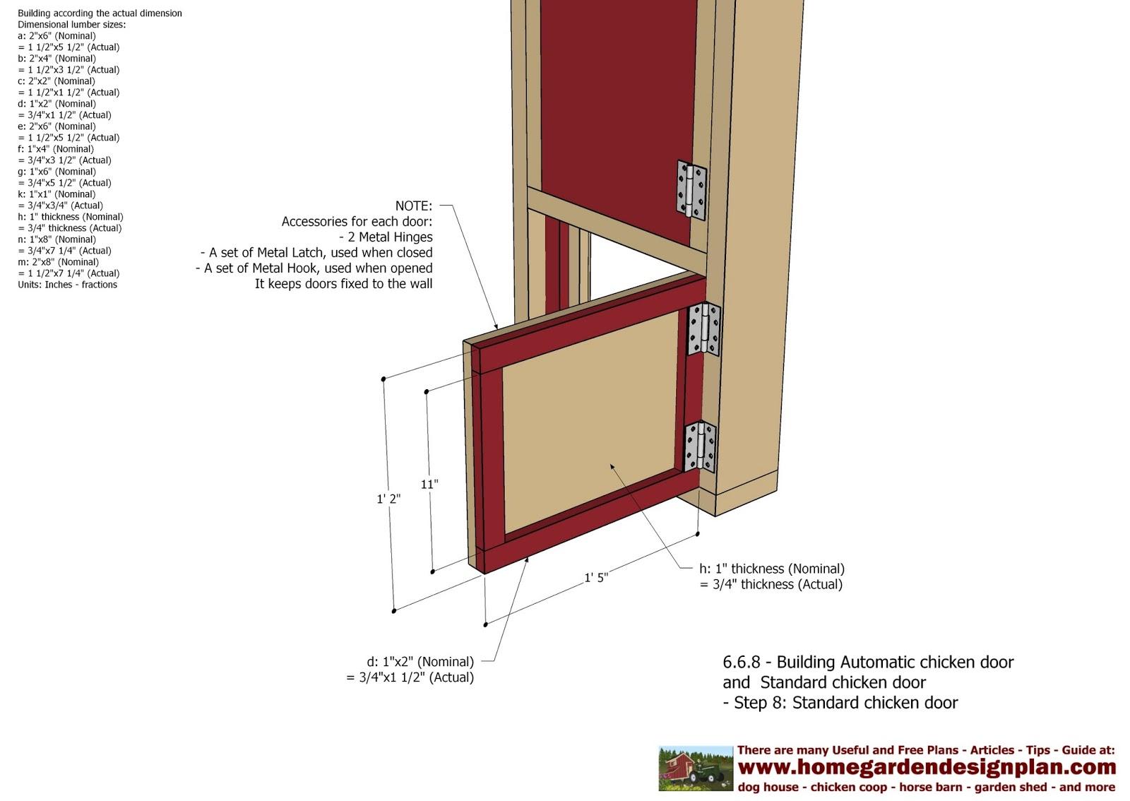 Diy Automatic Chicken Coop Door Plans Automatic Chicken Coop Door