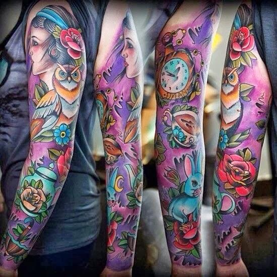 Untuk Indonesia Lebih Baik Full Sleeve Tattoo Ideas Full Arm