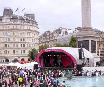 Eid Festival in Trafalgar Square #1