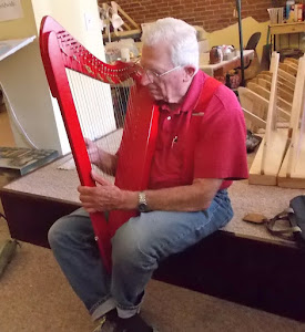 What is more fun than a new red harp?  It is called a Flatsicle.