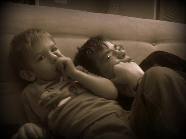 my sleepy boys