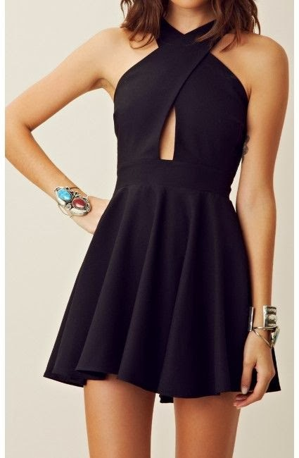 Amazing black gown with golden and stone bracelet