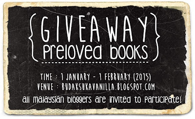 http://budaksukavanilla.blogspot.com/2015/01/giveaway-preloved-books.html