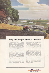 WHY DO PEOPLE WAVE AT TRAINS?