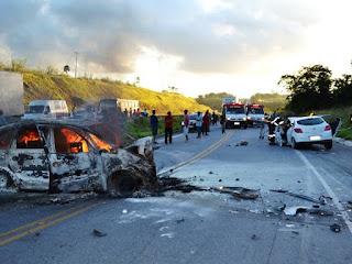 Acidentes em vias federais mataram 149 pessoas em AL em 2014, diz Ipea