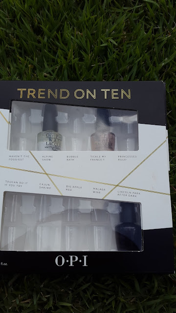 O.P.I Trend On Ten www.modenmakeup.com