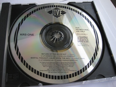 KRS-One – Return Of The Boom Bap / Mortal Thought (I Must Rock The Mic) (Promo CDS) (1994) (320 kbps)