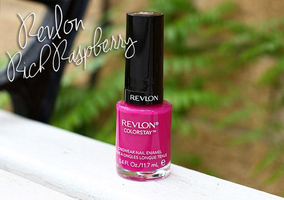 Revlon Rich Raspberry Colorstay Longwear Nail Enamel