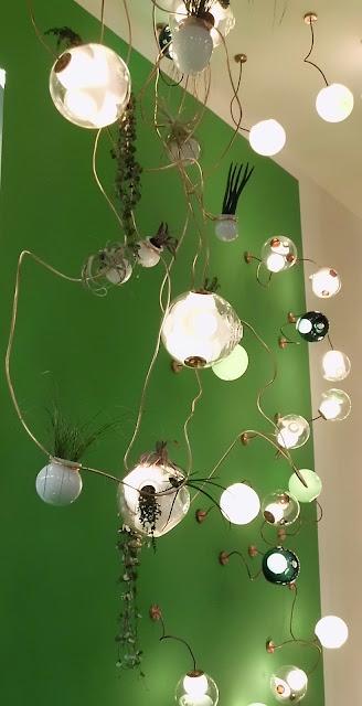 38 Deckenleuchten, Wandleuchten von Bocci auf der Kölner Möbelmesse imm cologne 2013