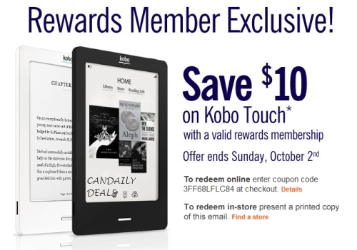 Kobo coupon 2018 canada i9 sports coupon get kobo promo code to save up to a 50 off coupon on ebooks ereaders for october 2017 fandeluxe Image collections