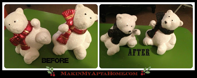 http://makinmyaptahome.com/2012/12/dollar-store-christmas-revamps.html