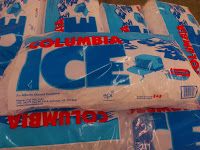 image of bags of ice from Columbia Ice.