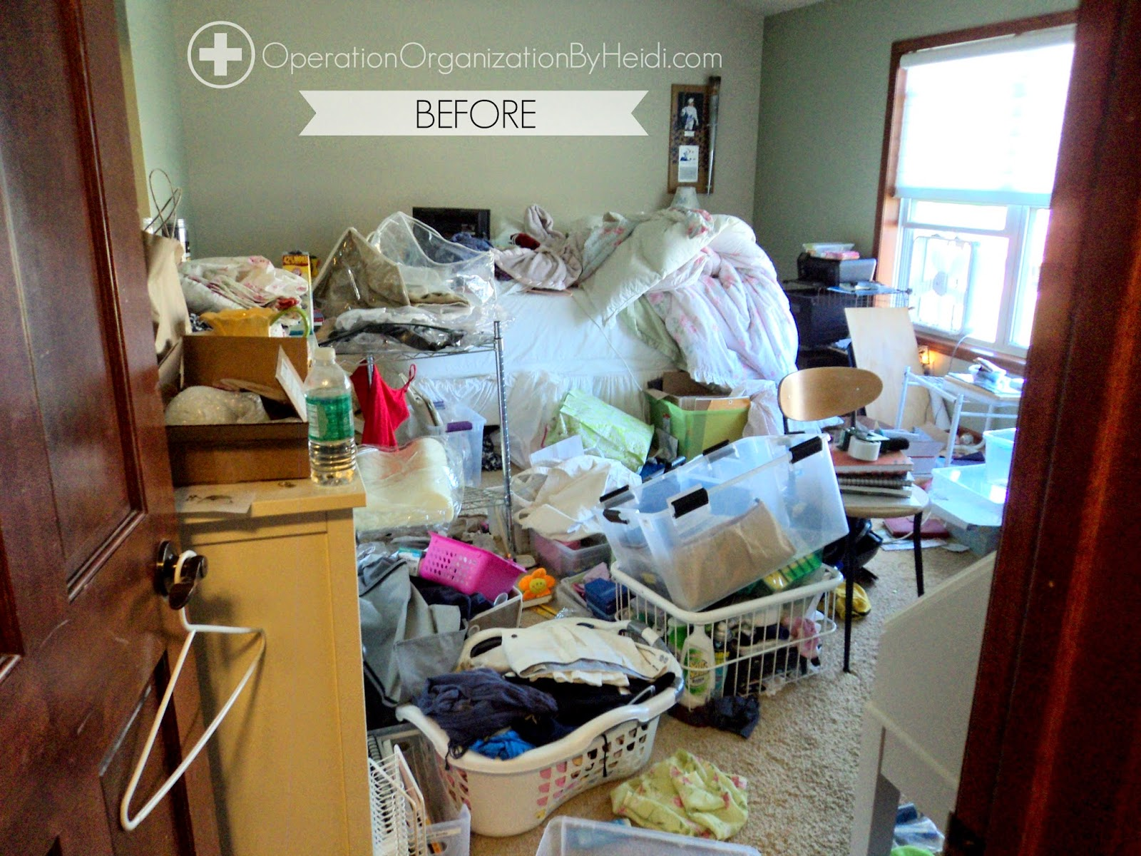 Here Is A Peek Of What Master Bedroom Looked Like Before Operation Organization By Heidi Was Called In For Aid