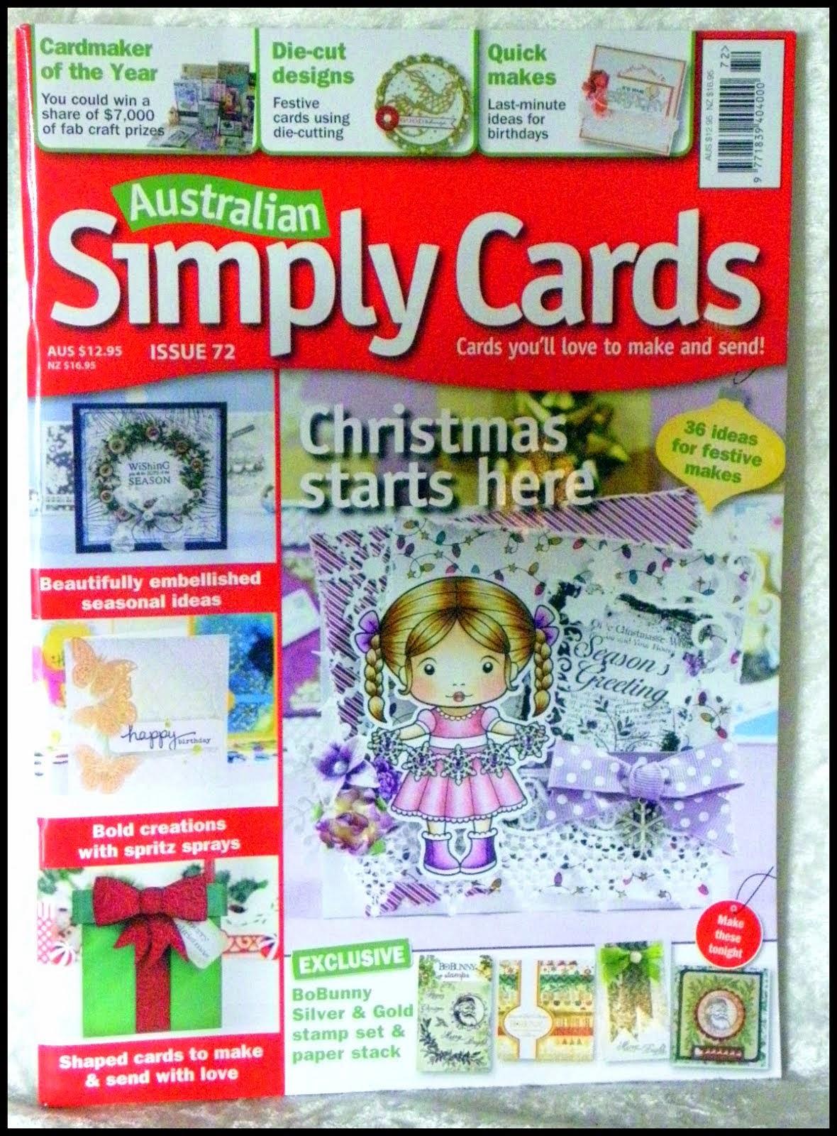 Australian Simply Cards #72