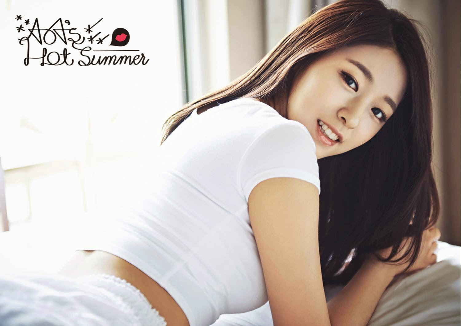 Seolhyun AoA Photobook Hot Summer