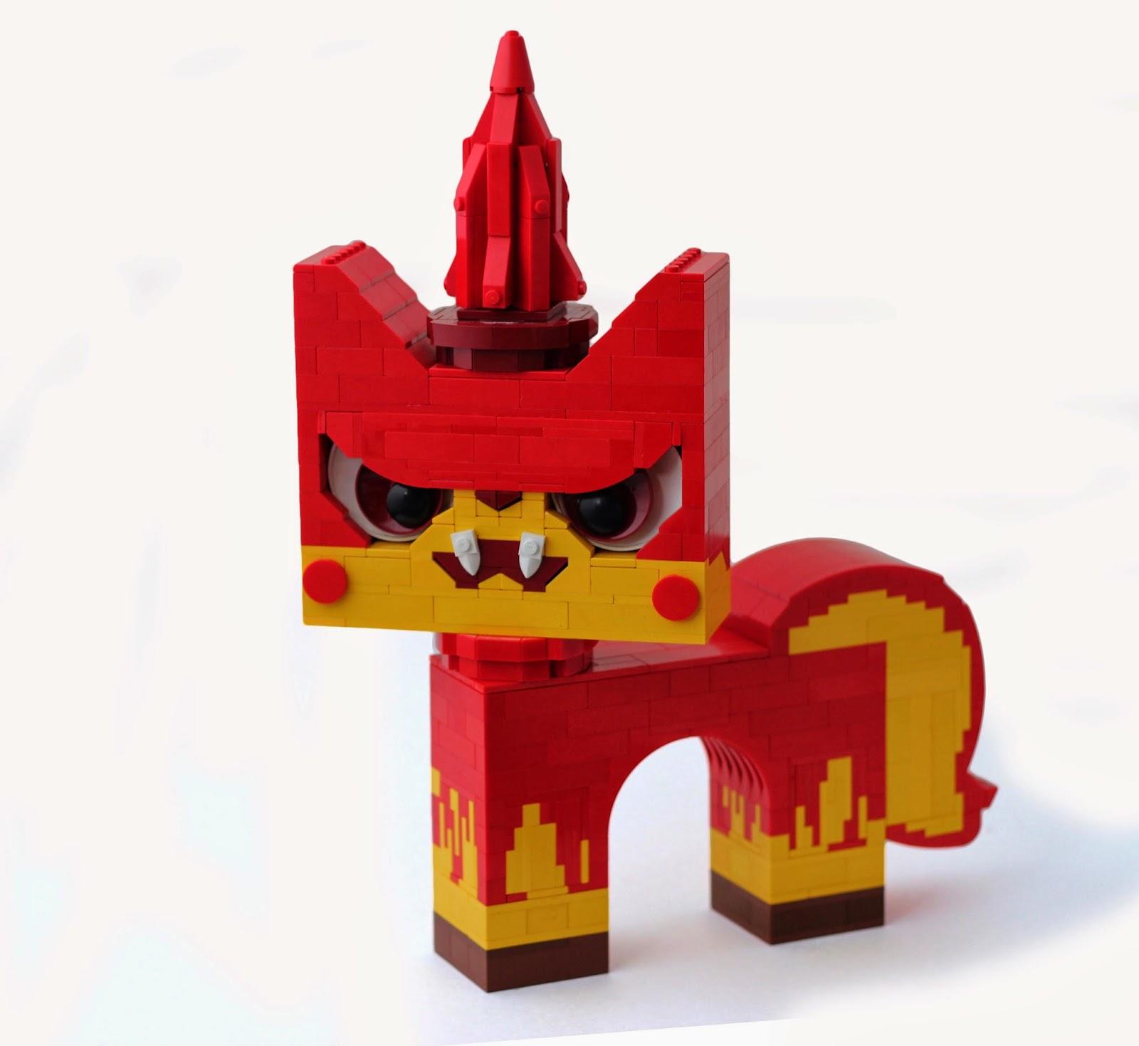 Unikitty,evil,bad,Lego
