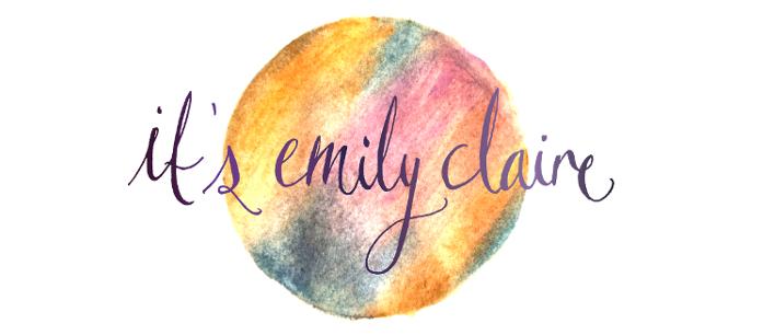 It's Emily Claire