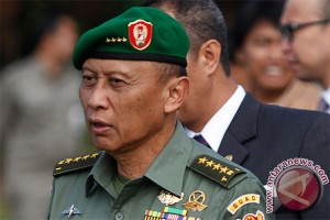 Kepala Staf TNI Angkatan Darat (KSAD), Jenderal TNI Pramono Edhie Wibowo. (ANTARA/Widodo S. Jusuf)